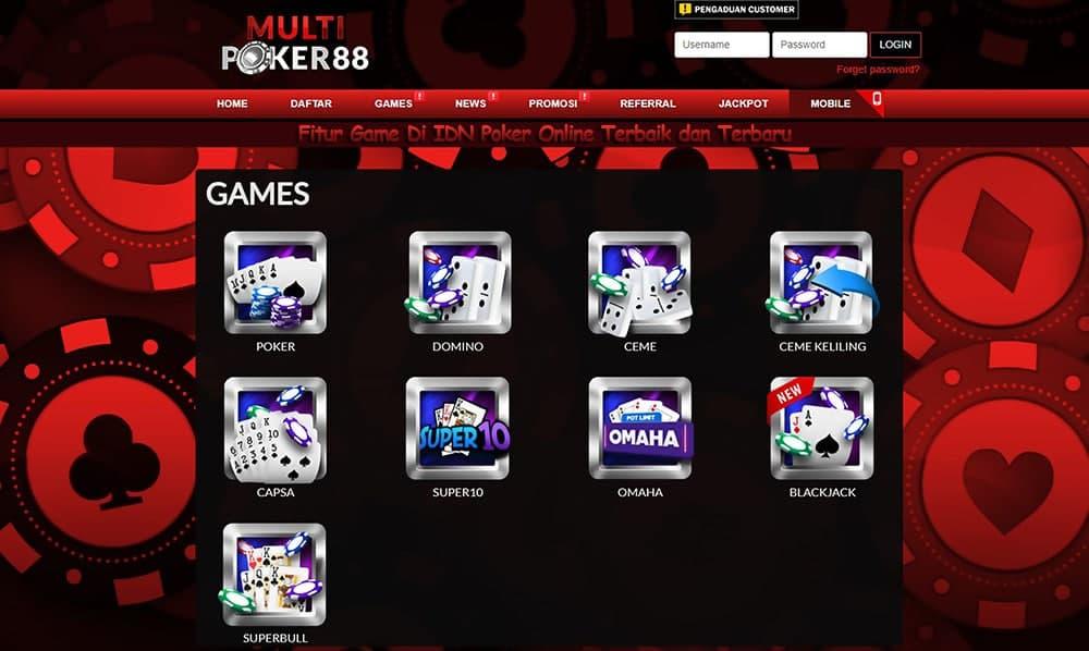 Fitur Game Di IDN Poker Online Terbaik dan Terbaru