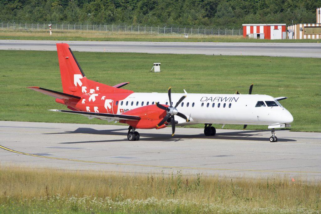 Darwin Airline dan Pesawat Saab 2000
